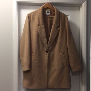 Old Navy Camel Wool Coat